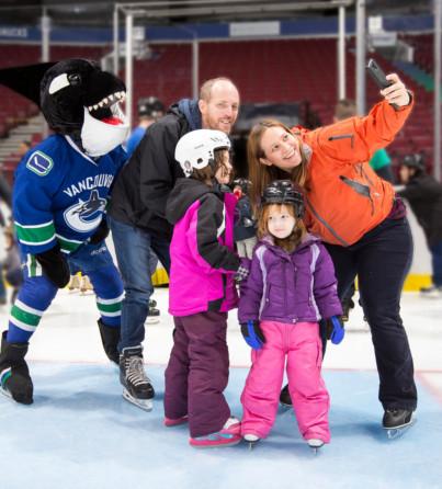 Rogers Arena Family Skate